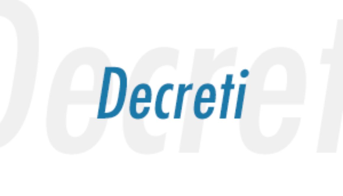 decreti